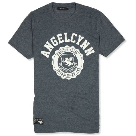 Senlak Angelcynn T-shirt  - Heather Navy
